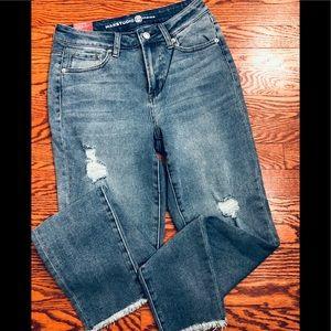 NWT Max Studio Distressed Jeans